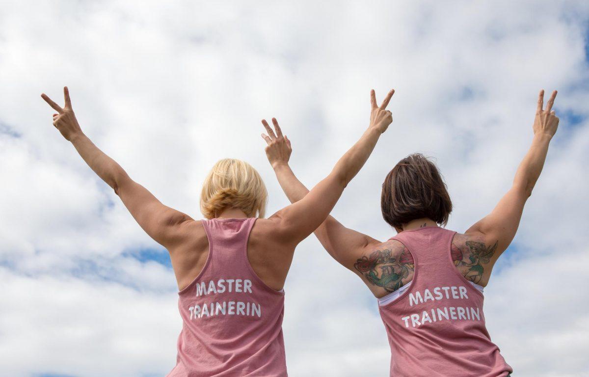 PowerRobic Mastertrainer Susi und Anja
