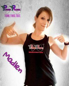 Madlen Rockstroh PowerRobic Trainer